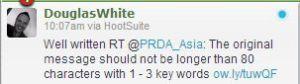 PRDA Twitter post good 2
