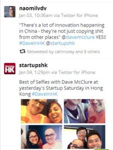 Dave McClure in Hong Kong for Startupshk